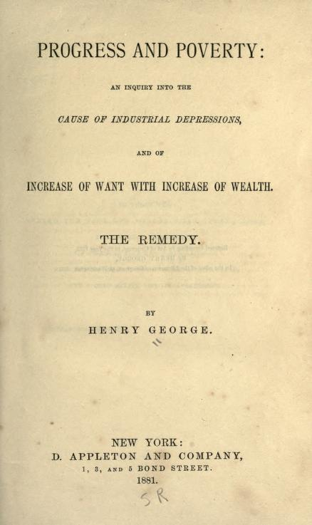 Progress and Poverty (1881 edition).jpg