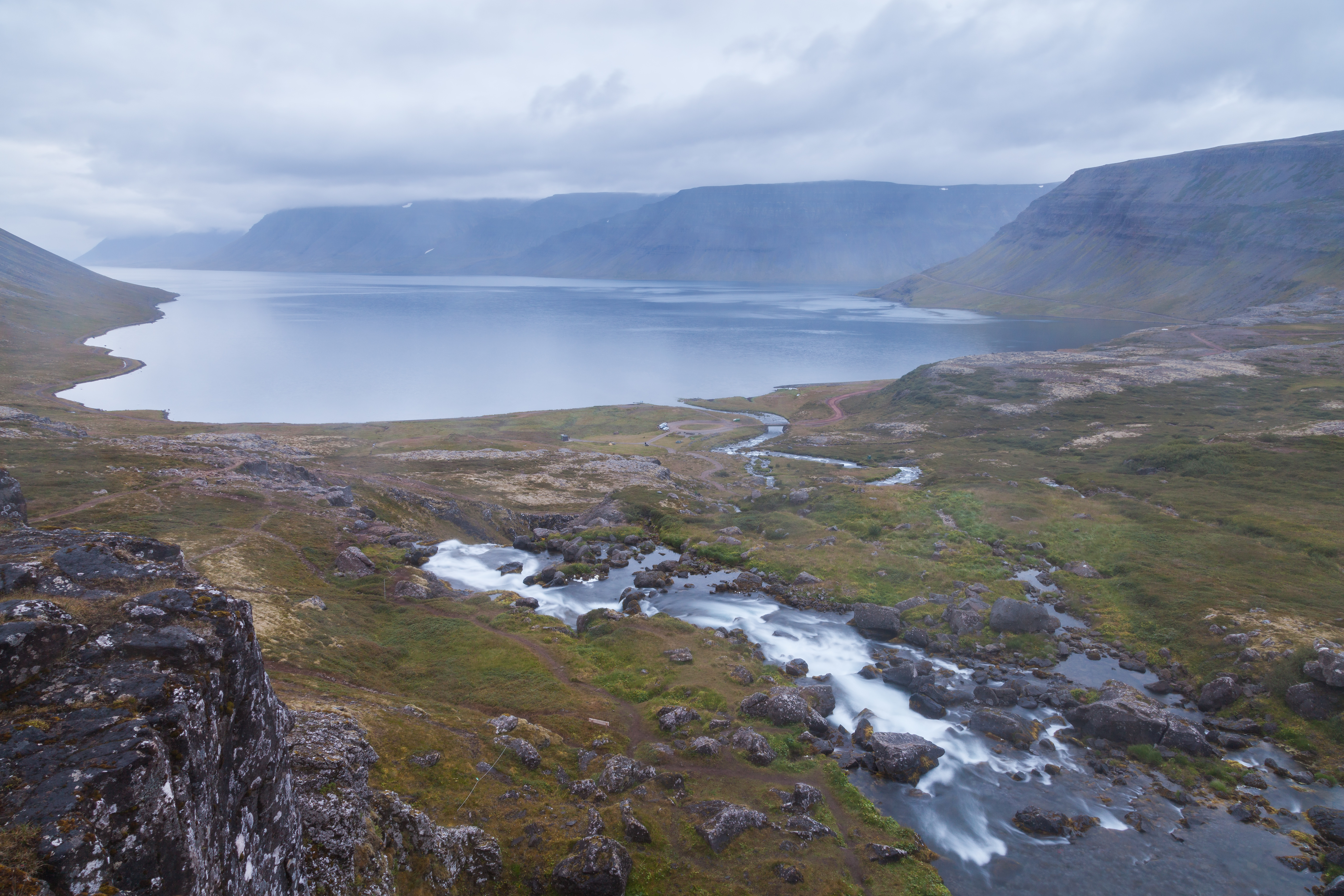 Filrío Dynjandisá, Vestfirðir, Islandia, 20140814, Dd