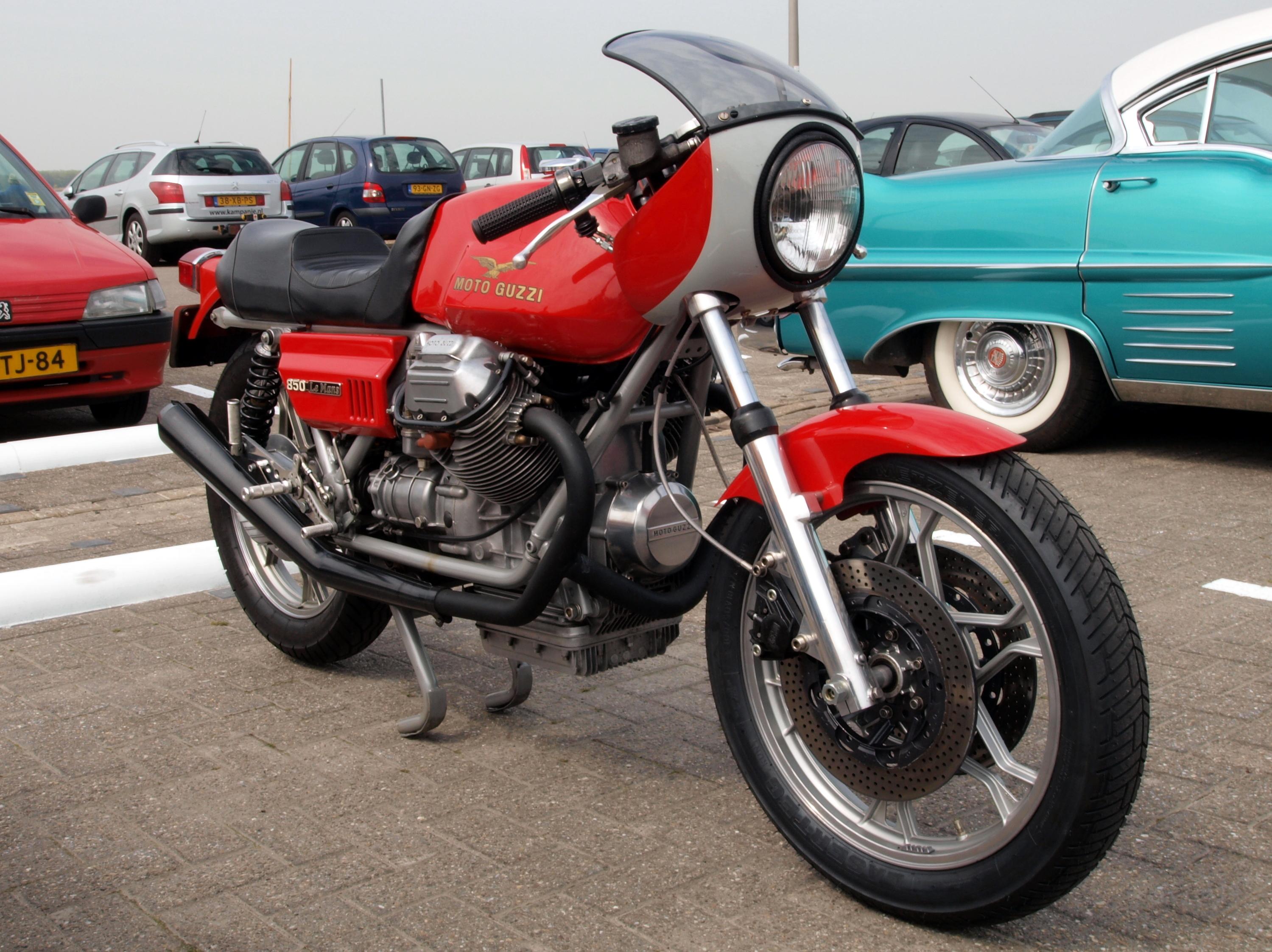 Moto Guzzi Le Man  Caf Ef Bf Bd Racer