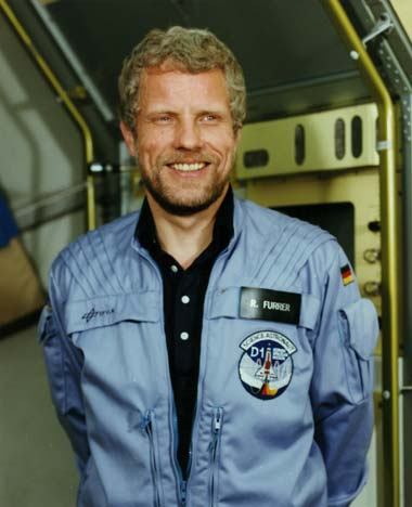Austrian astronaut Reinhard Furrer PhD, NASA photo S84-47033 (13 December 1984)Source: Wikipedia (www.jsc.nasa.gov unavailable November 2019) Reinhard_Furrer.jpg