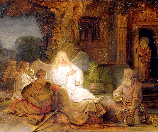 File:Rembrandt Abraham Serving the Three Angels.jpg