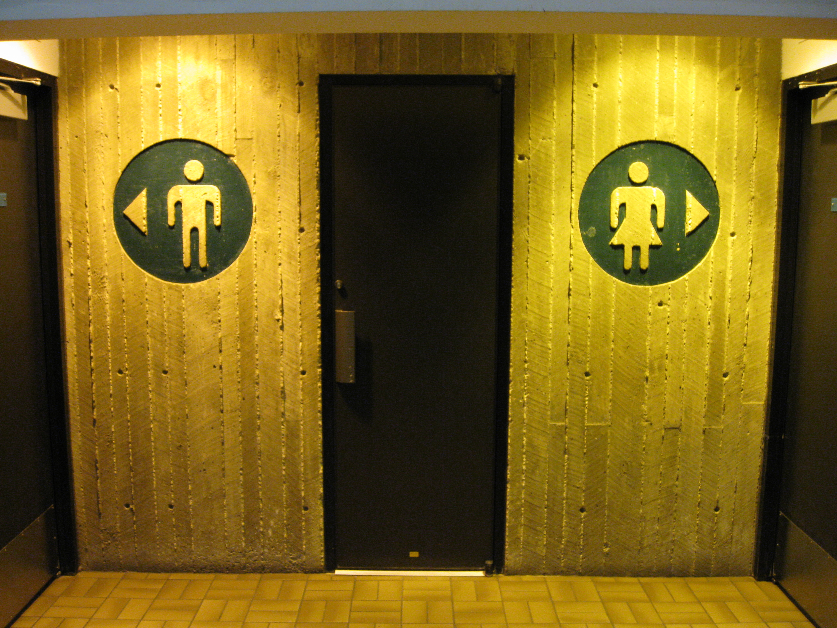 Bathroom Signs History file:restroom signs - wikimedia commons