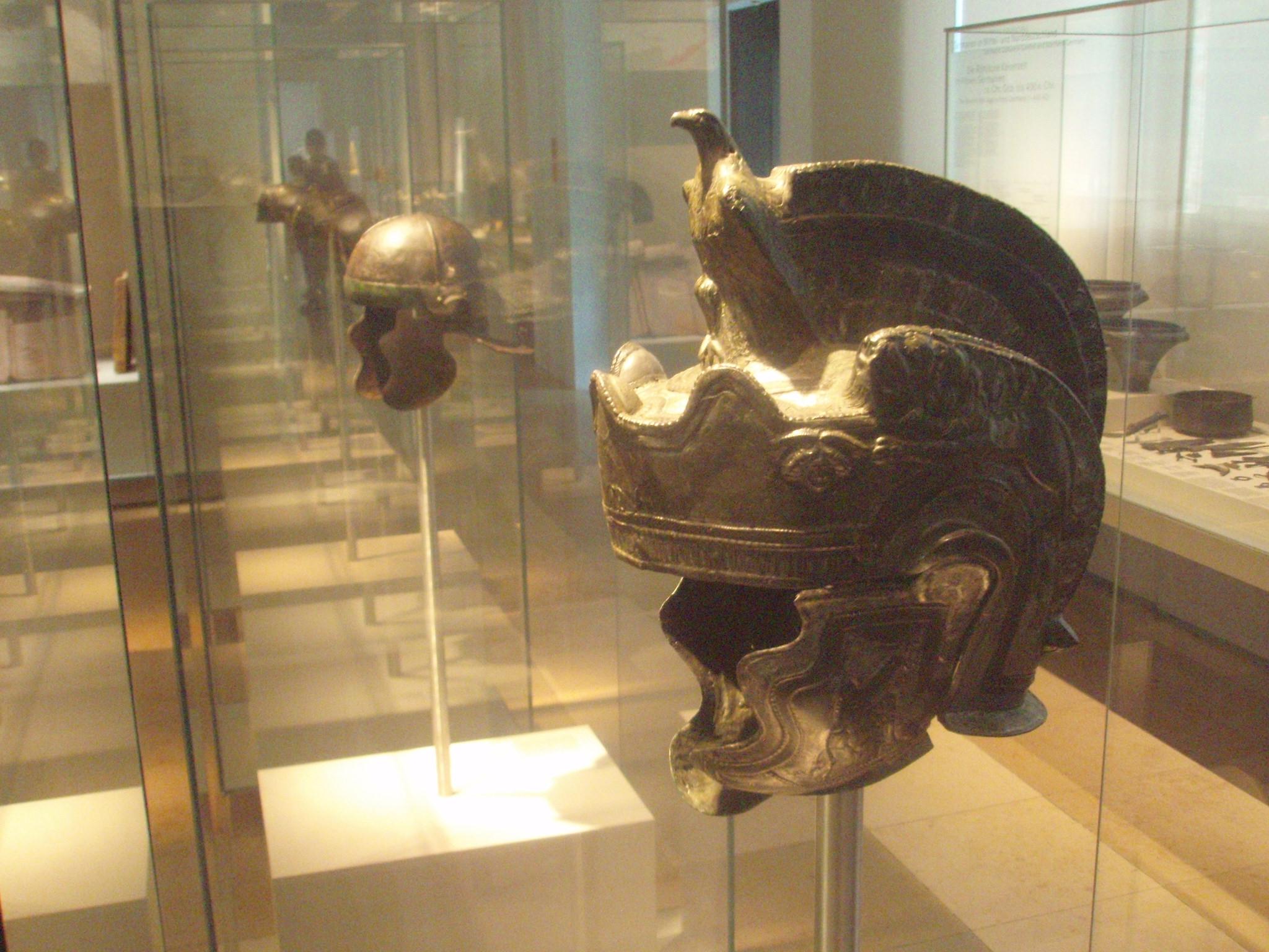 File Roman Helmets 2nd Century Germanisches