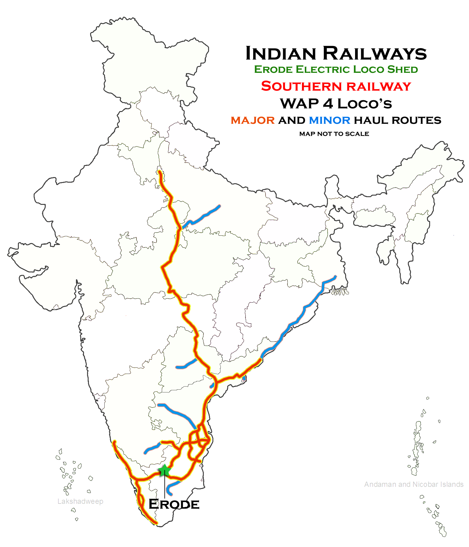 File:Route haul map of Erode Electric Loco shed.png ... on