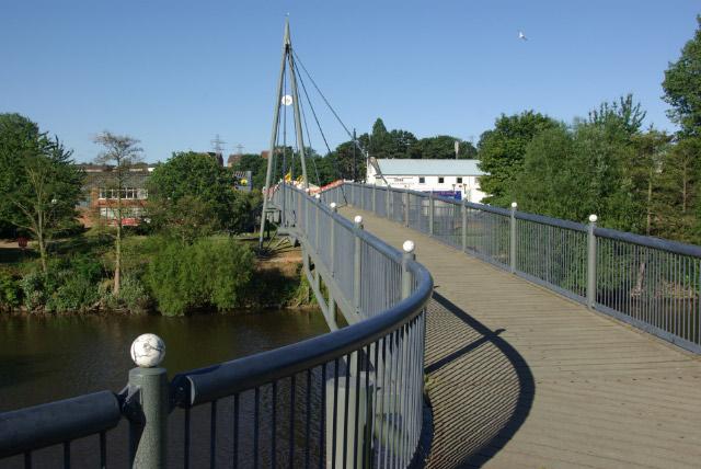 Sabrina Bridge, Worcester - geograph.org.uk - 891931