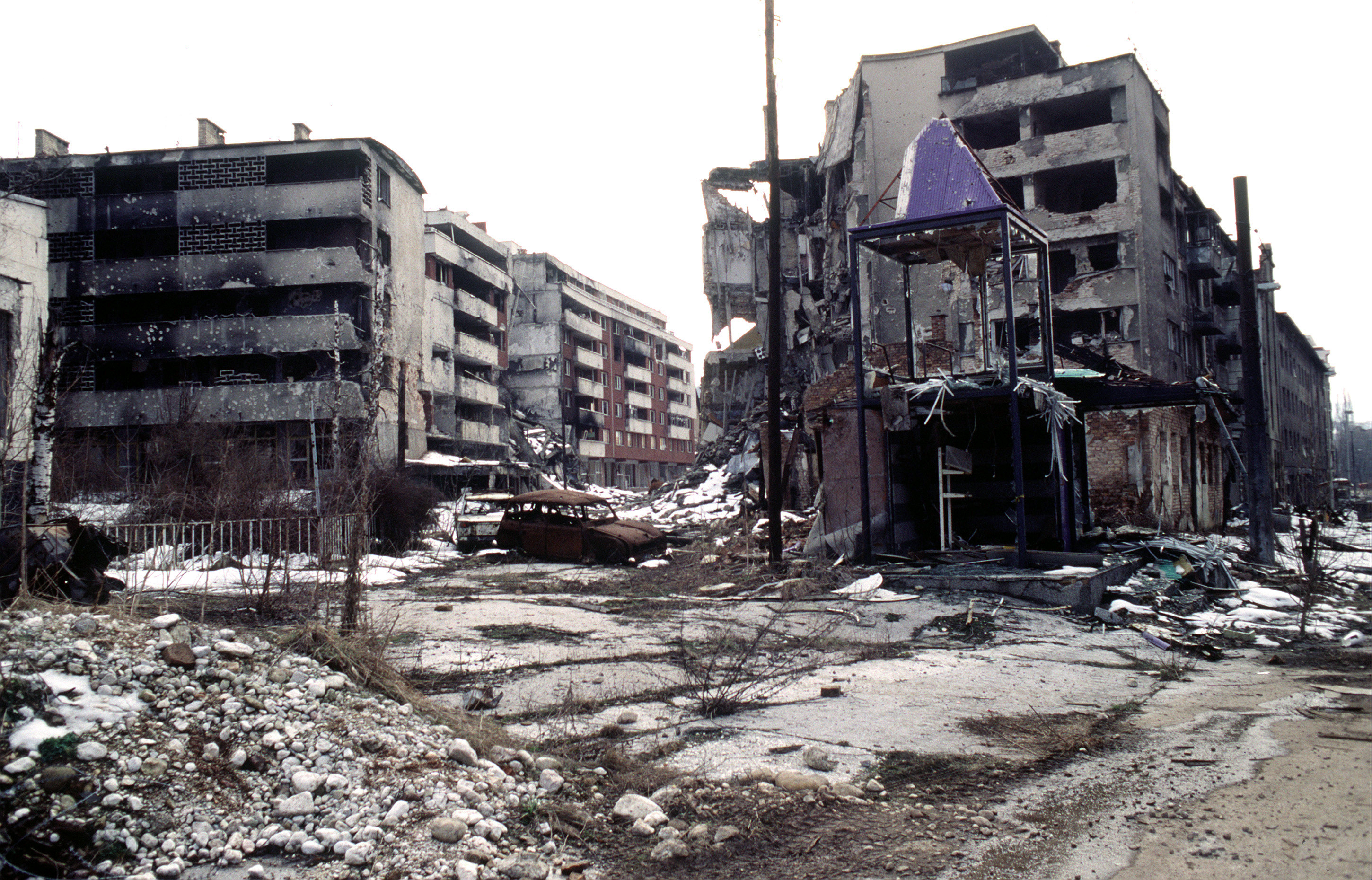 Sarajevo during the Bosnian War