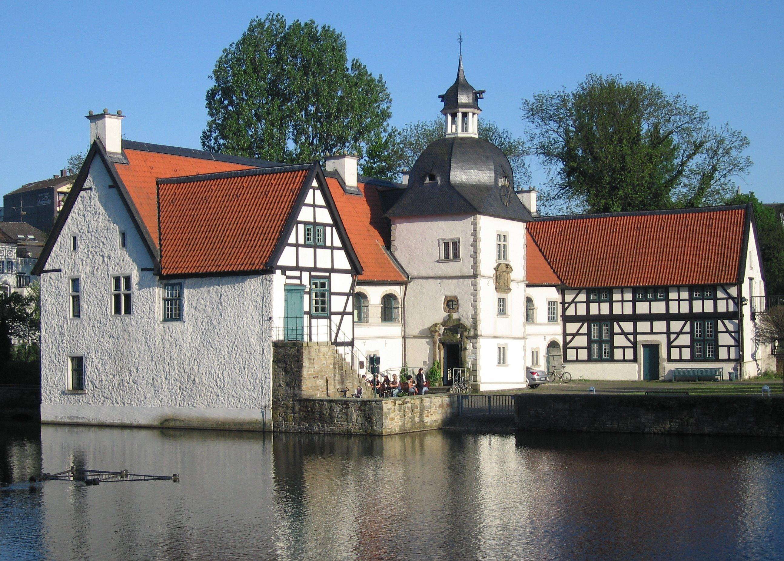 Wasserschloss Haus Rodenberg Wikiwand