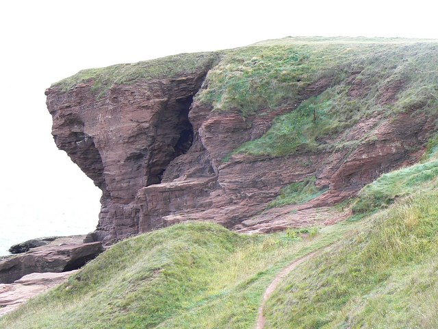 Seaton Cliffs - geograph.org.uk - 228240