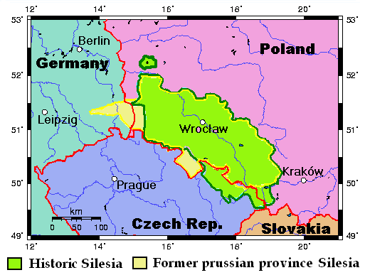 Silesia: a borderland in Central Europe - European studies ...Silesia Map Europe