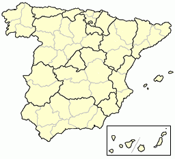 Map Of Spain By Province.File Spain Provinces Blank Png Wikimedia Commons