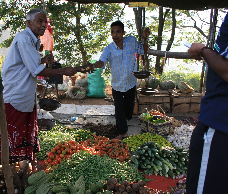 Kandy Sri Lanka Market