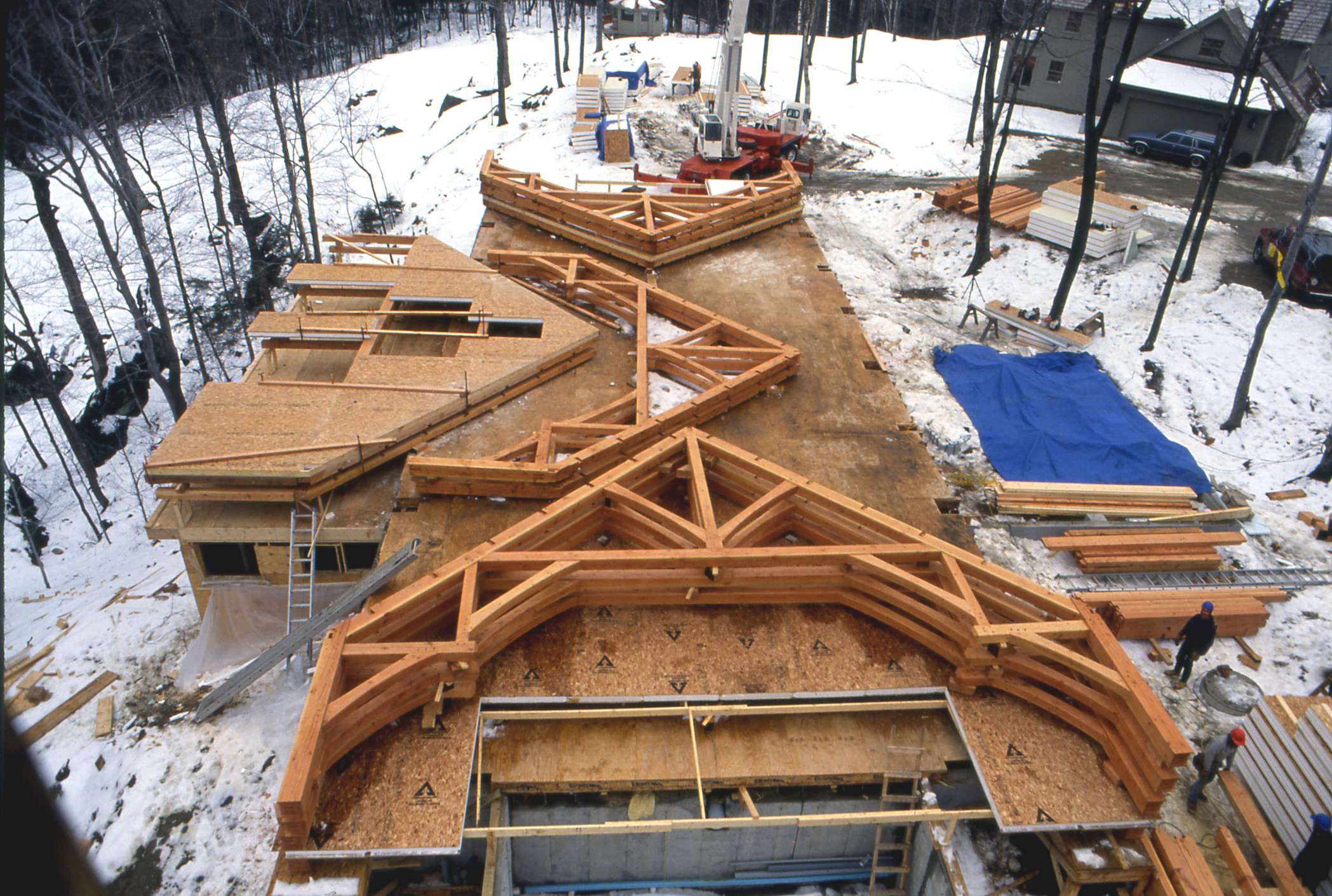 timber deck construction
