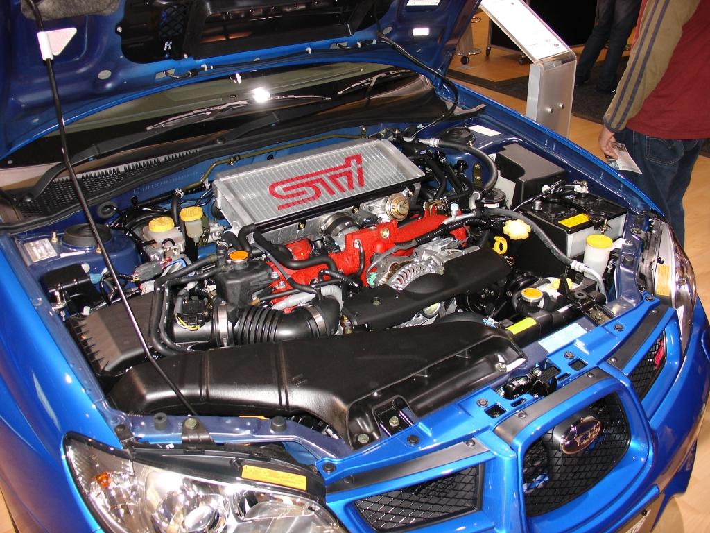 Subaru wrx 2006 horsepower