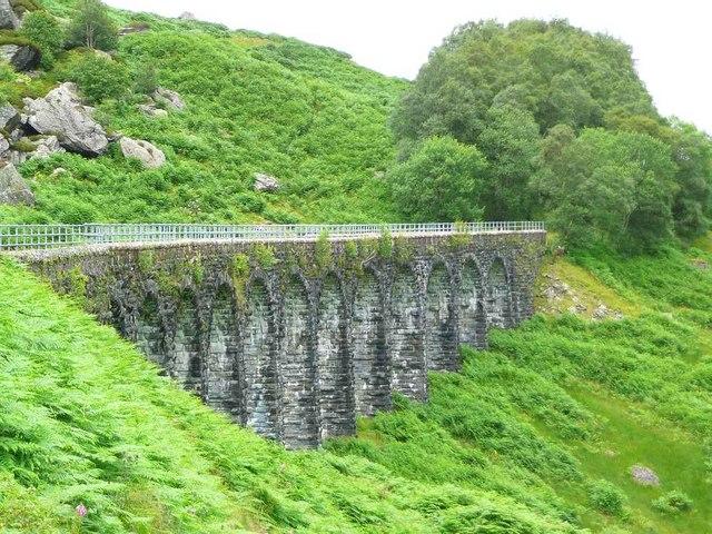 The Glen Ogle Viaduct - geograph.org.uk - 1406927