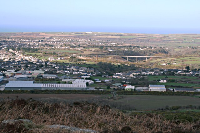The View from Carn Brea - geograph.org.uk - 354870