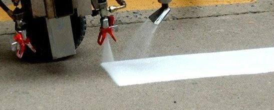 Thermoplastic spraying