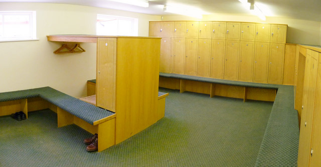 Golf Club Changing Rooms