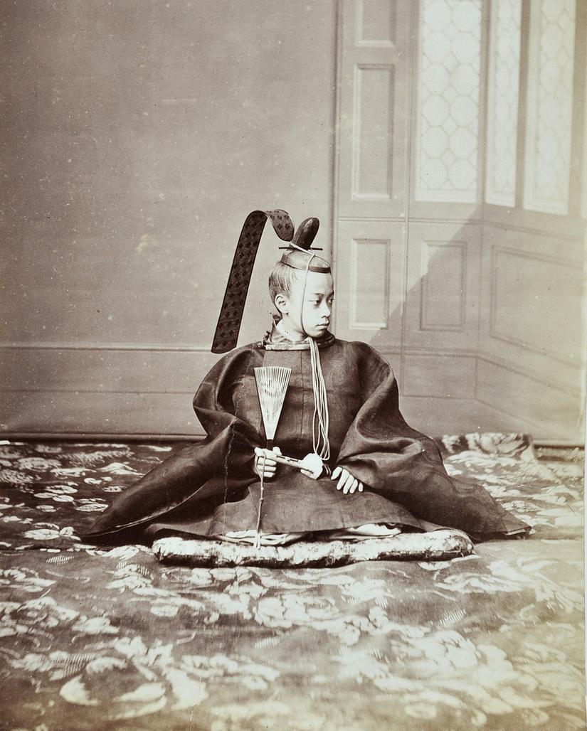 徳川昭武。Tokugawa Akitake.パリ万国博覧会に徳川慶喜の代理として出席した時の...