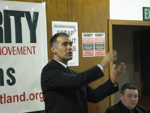 Tommy Sheridan.  Image licensed under Creative Commons Attribution 2.5 License by D. Natanson