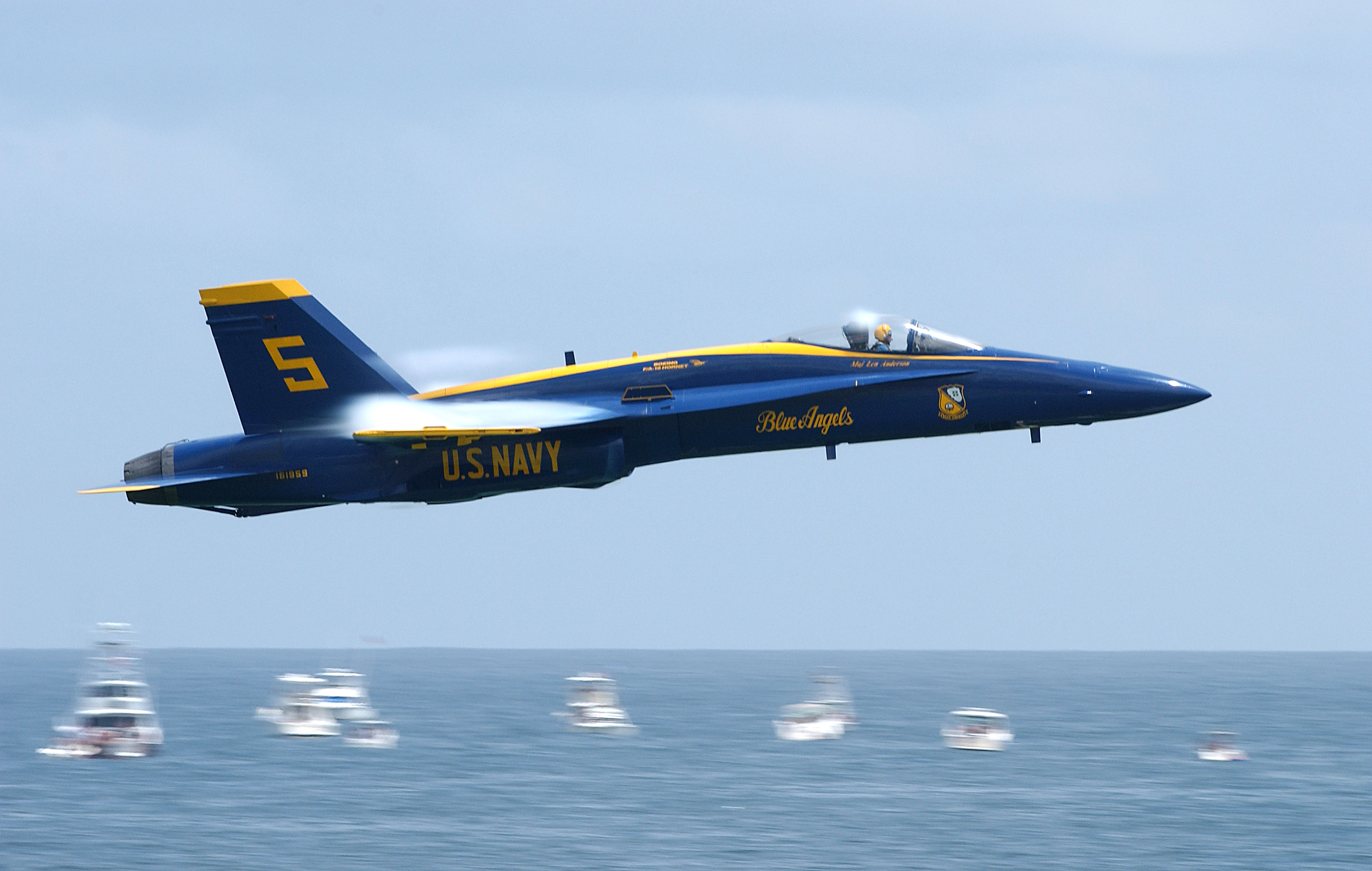 Blue Angels at Pensacola Beach