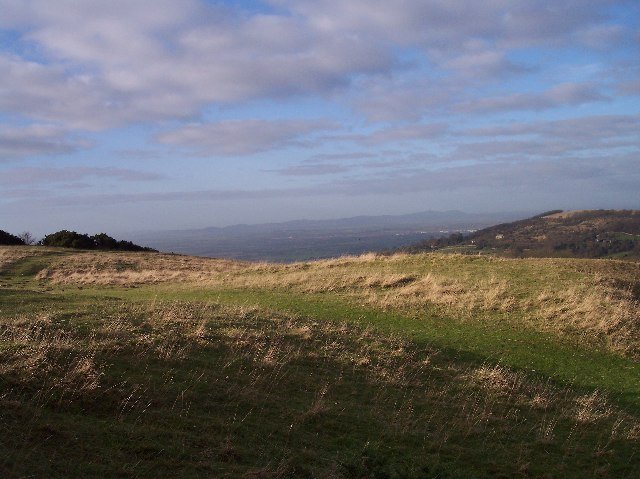 View of the Malvern Hills from Cleeve Hill - geograph.org.uk - 93050