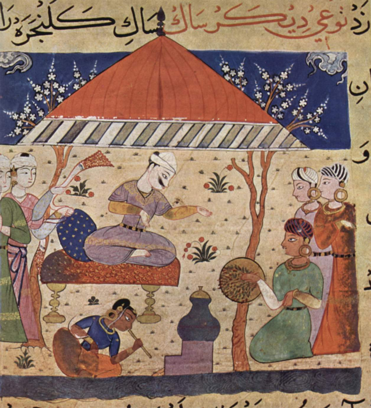 Nimat nama oli 1500-luvun keittokirja, joka innoitti deccan-koulukunnan maalareita.