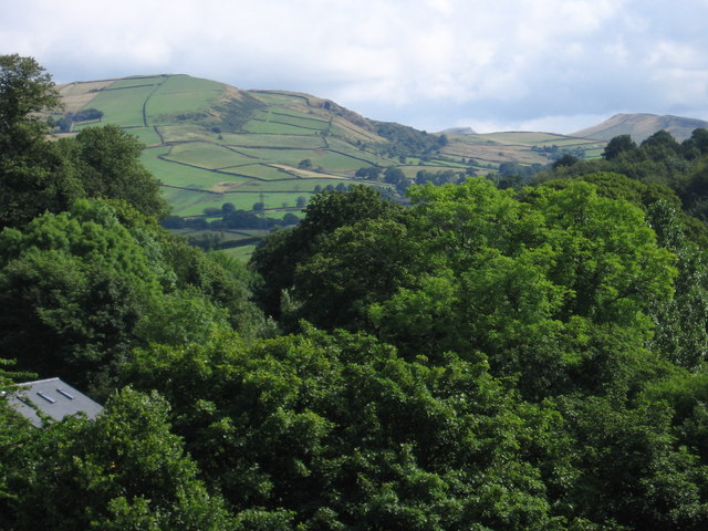 Whaley Bridge - View from Toddbrook Reservoir Dam - geograph.org.uk - 1443317