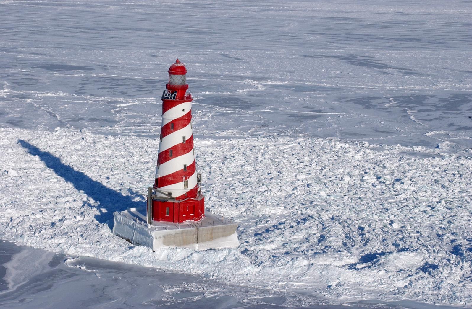 White Shoal Light, Michigan - Wikipedia