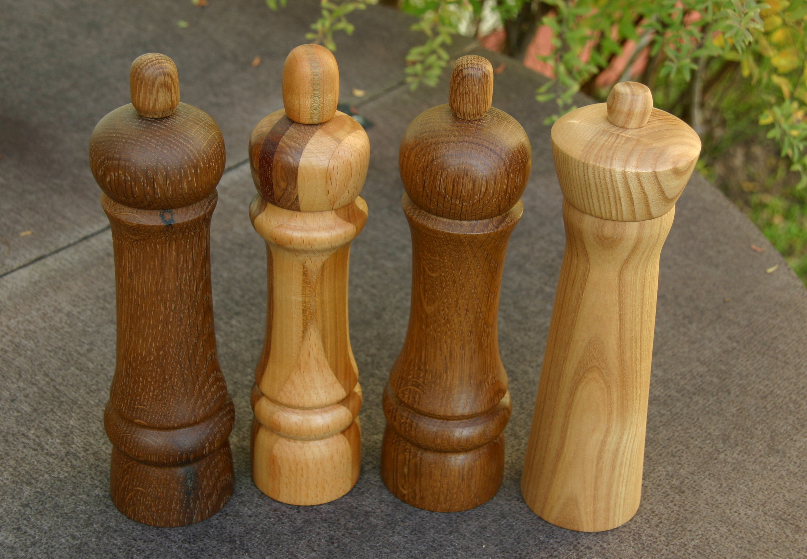 File:Woodturning-15-Peppermills-gje.jpg - Wikimedia Commons