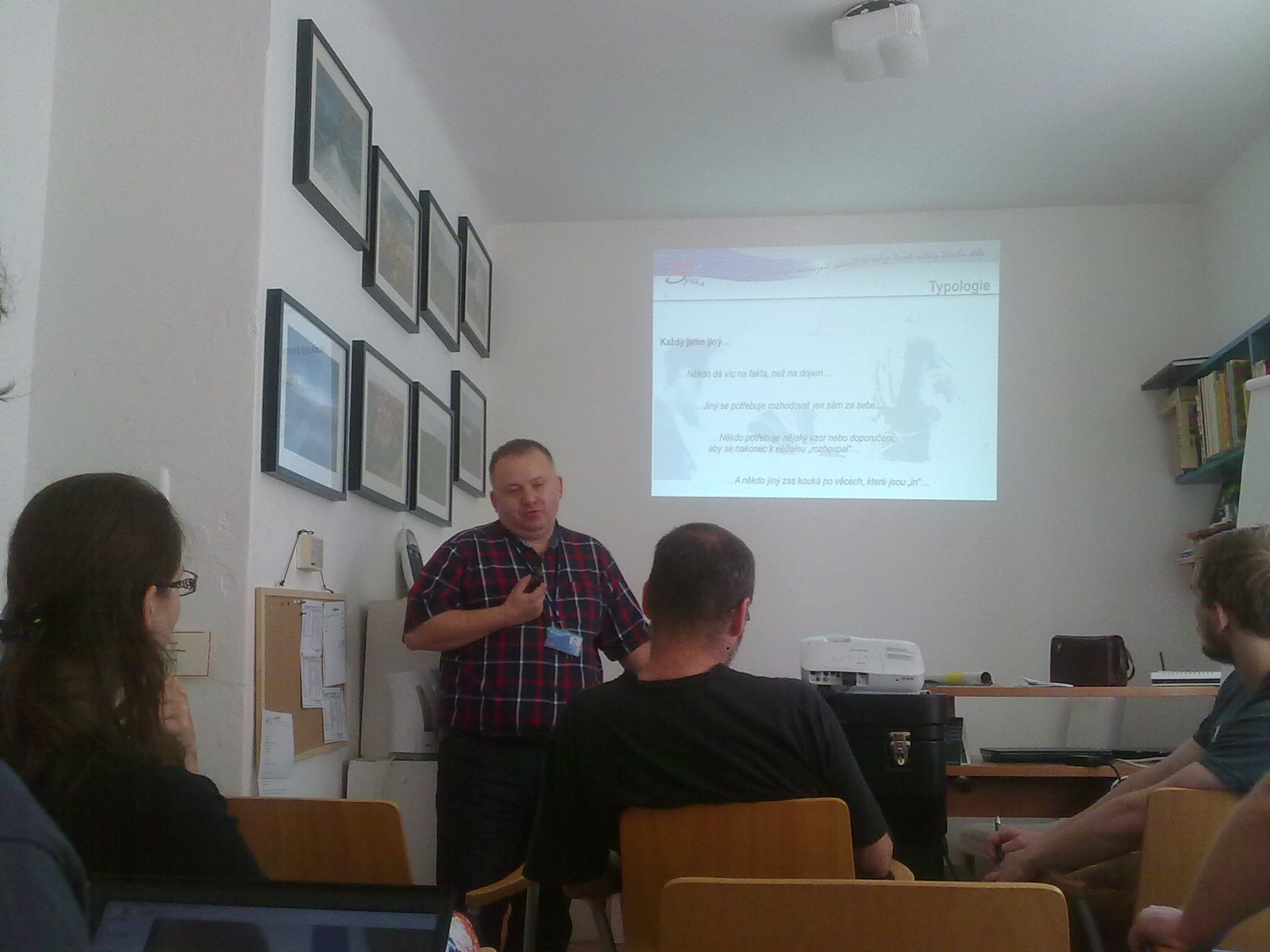 Workshop with Ivo Spilka, Wikimedia Czech Republic Office.jpg