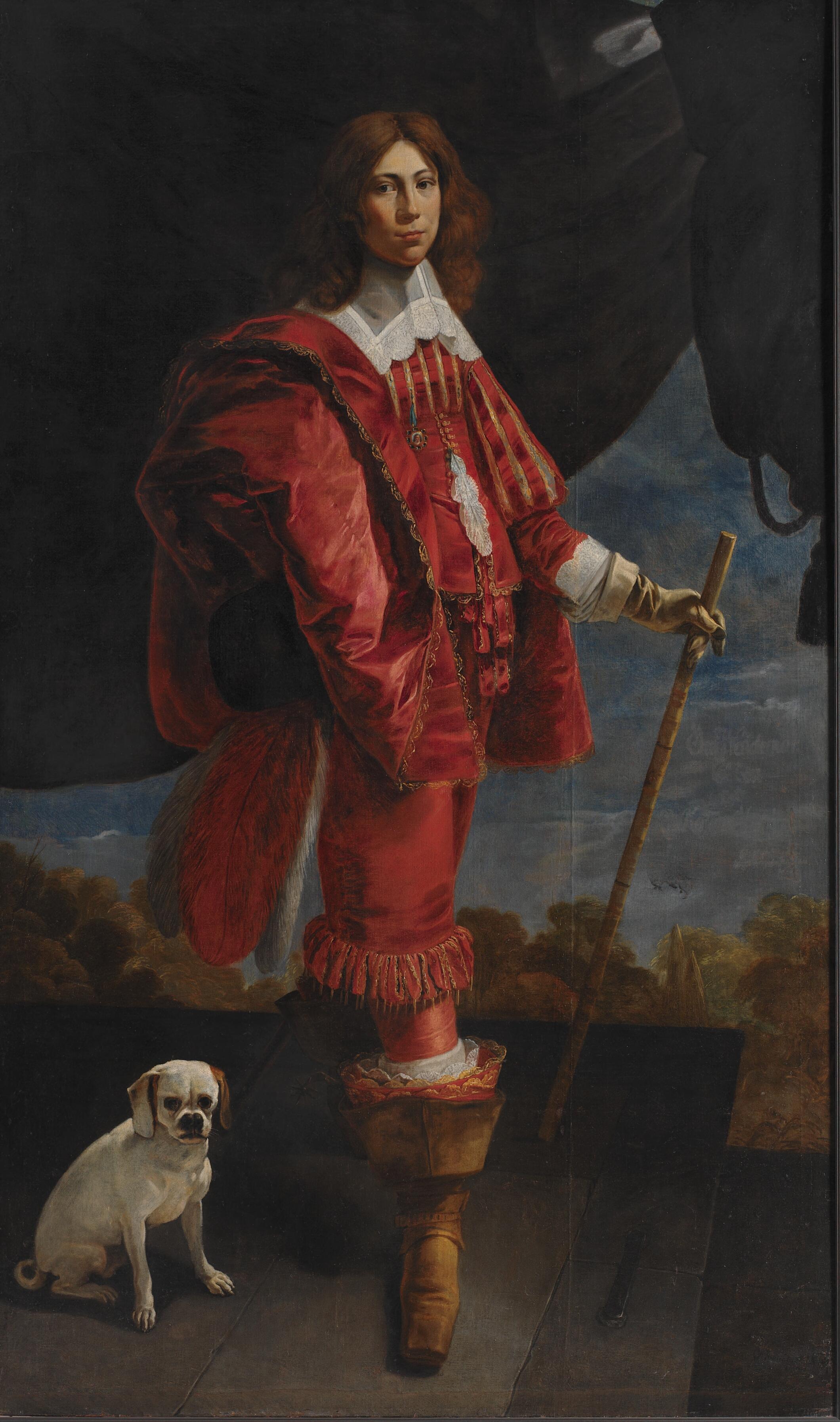 Ulrik Christian Gyldenløve (1630-1658), son of Christian IV and Vibeke Kruse