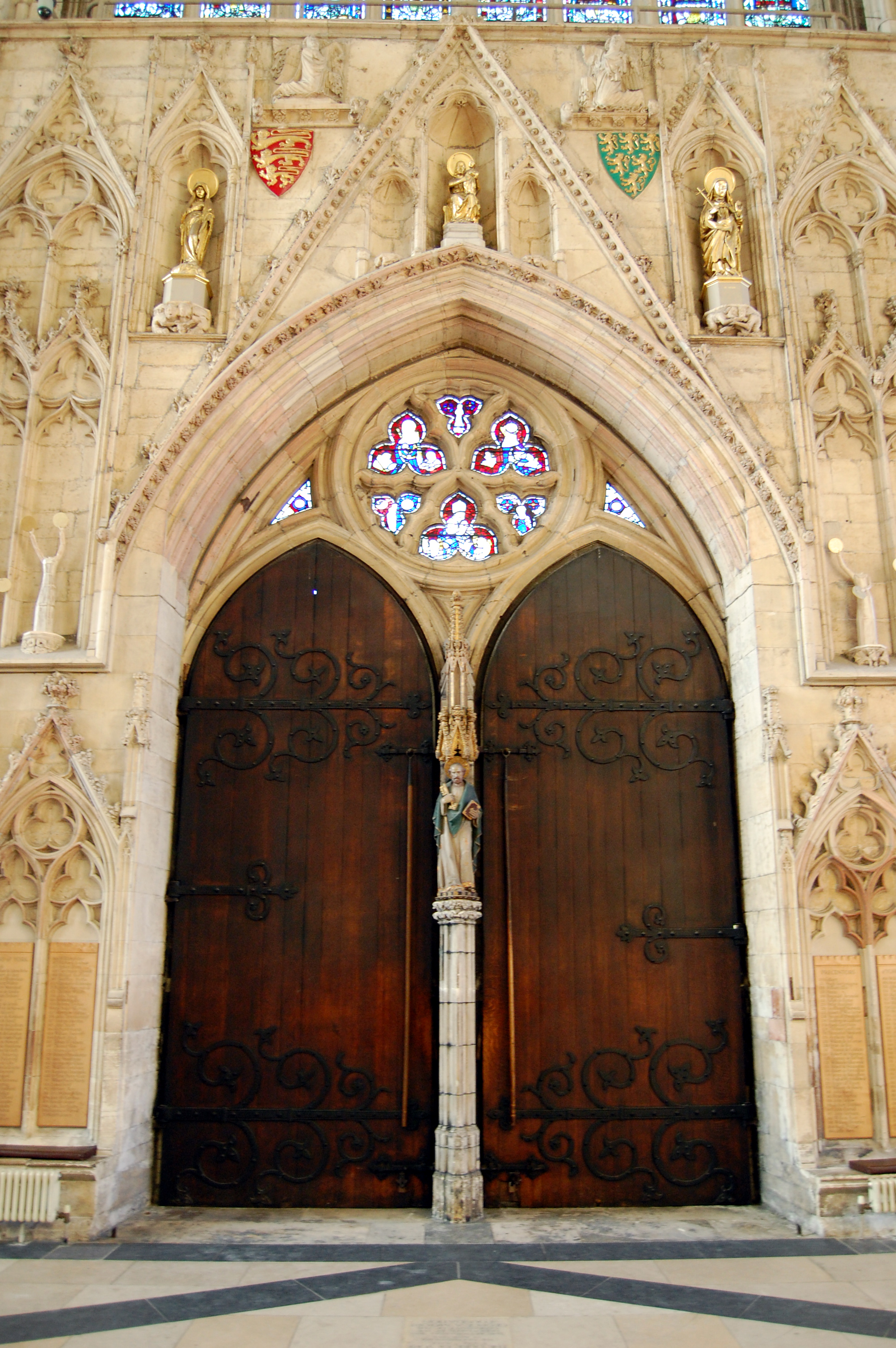 File:York Minster main entrance door St Peter.jpg & File:York Minster main entrance door St Peter.jpg - Wikimedia Commons Pezcame.Com