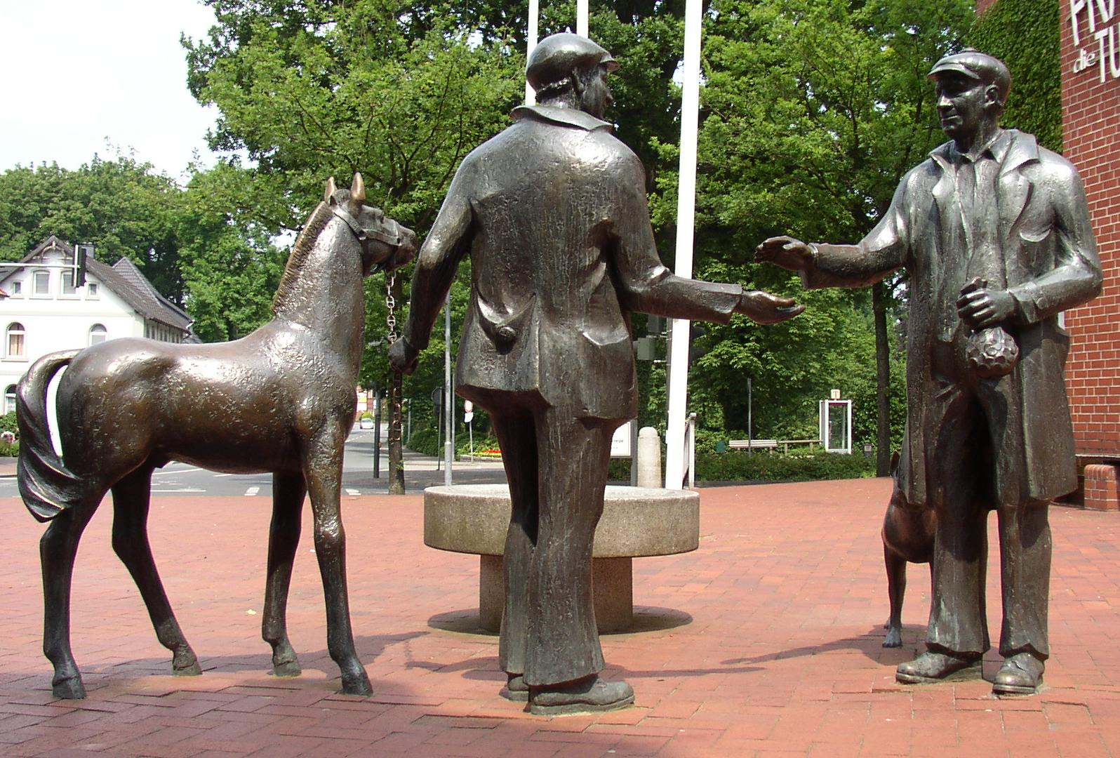 Horse Traders; image by Doris Antony
