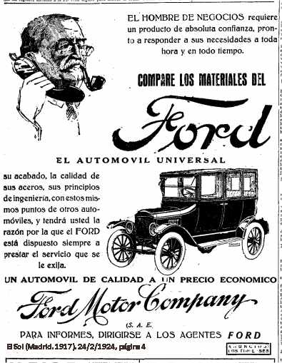 File 1924 ford motor wikimedia commons for Ford motor company news headlines