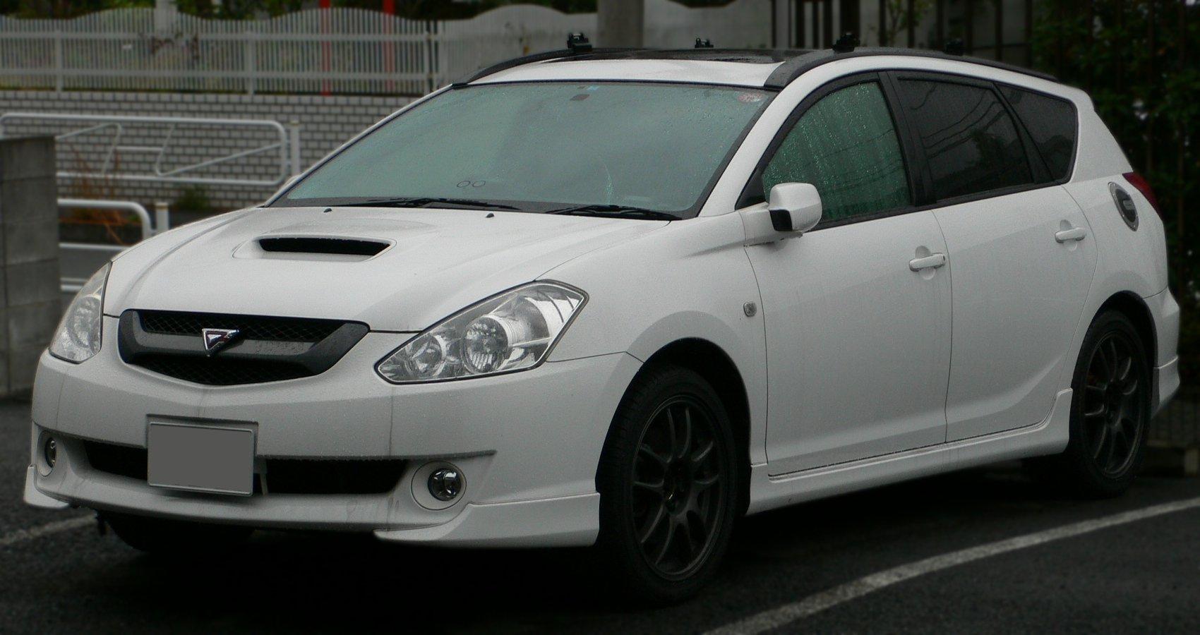 Toyota Celica 2016 >> File:2002 Toyota Caldina 02.jpg - Wikimedia Commons