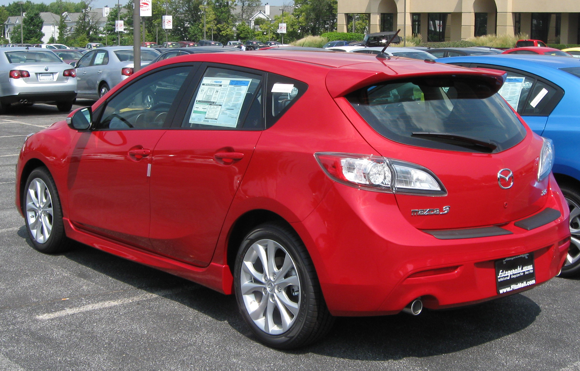 File:2010 Mazda3 Hatchback    08 25 2009