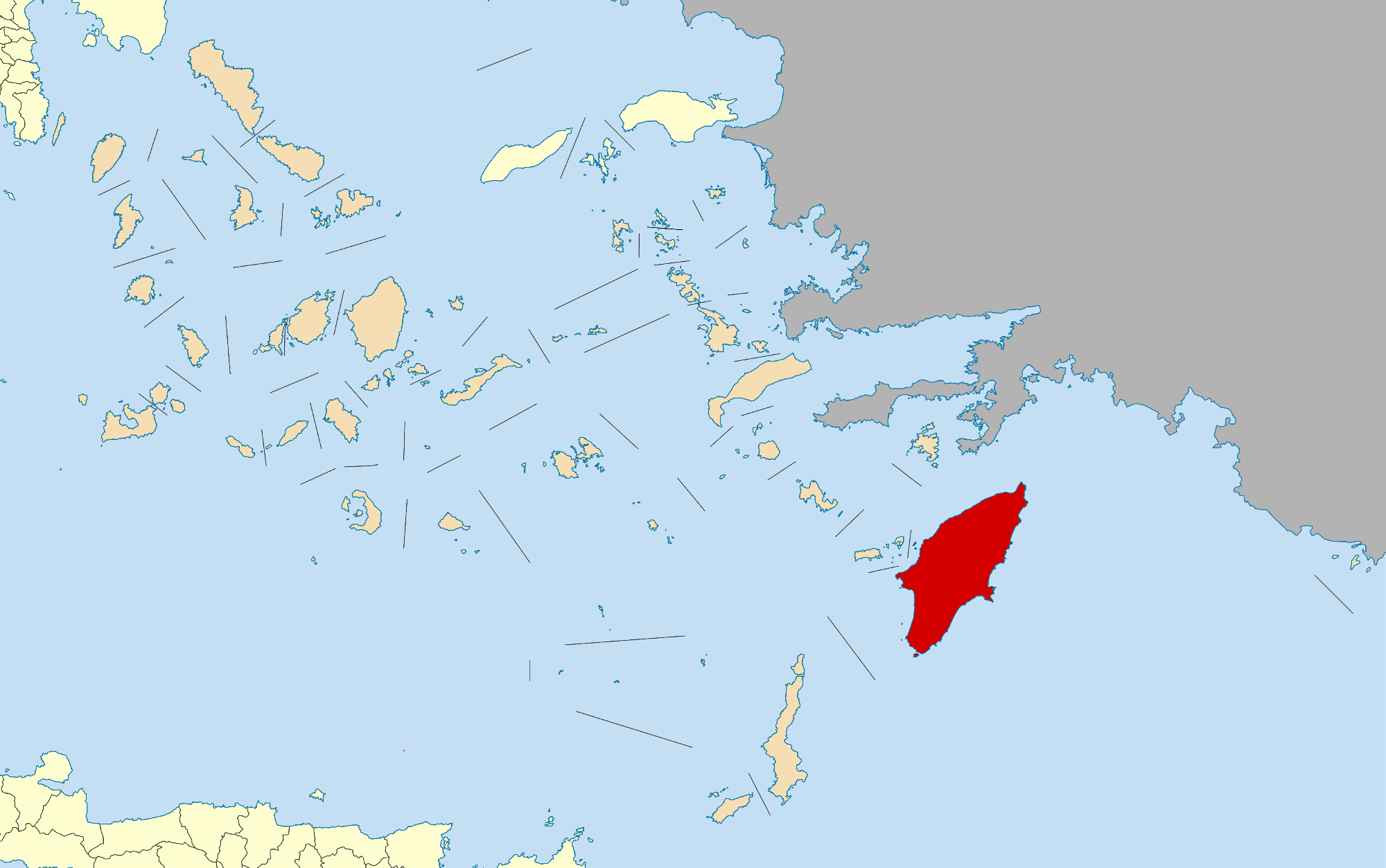 map of rhodes greece island Rhodes Wikipedia map of rhodes greece island