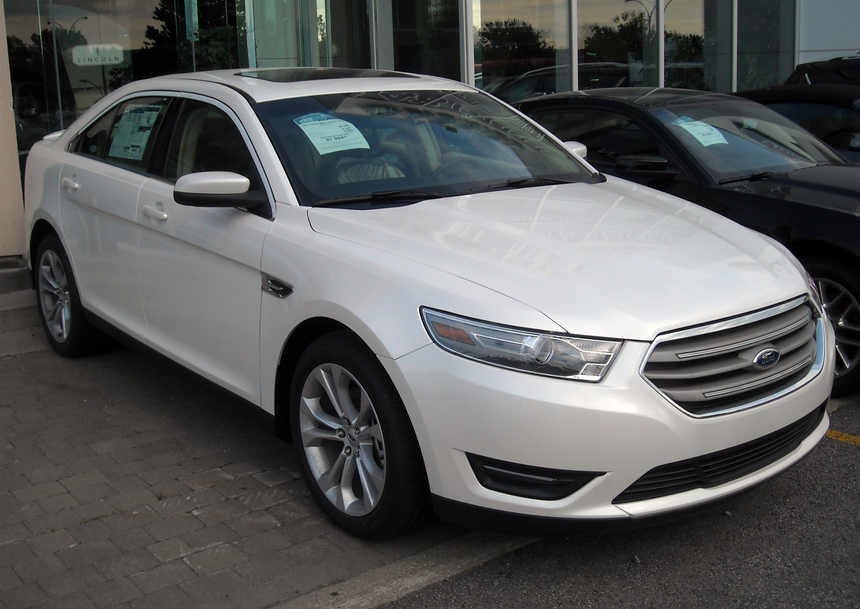 File2013 ford taurus sho facelift jpg