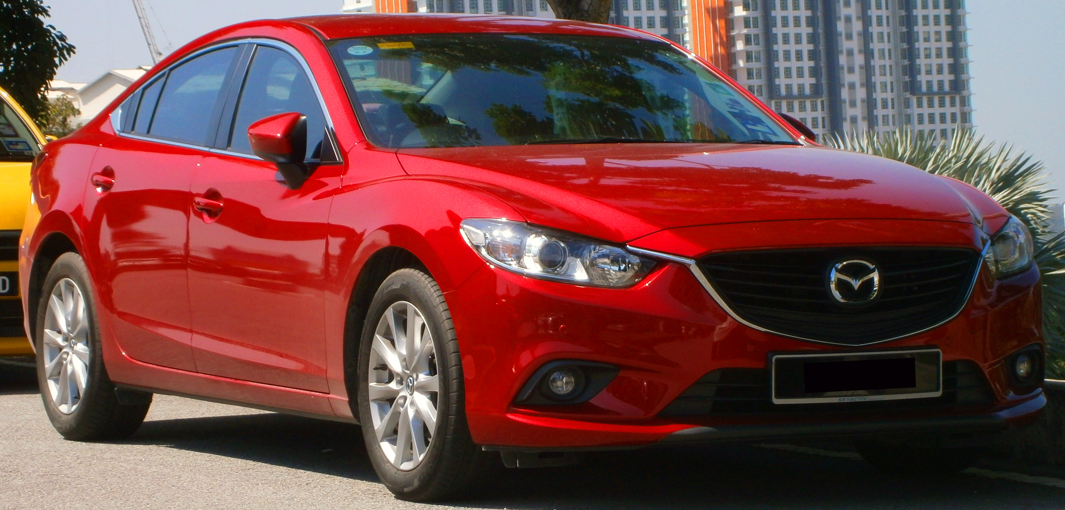 file 2013 mazda6 2 0 saloon in cyberjaya malaysia 01 jpg wikimedia commons. Black Bedroom Furniture Sets. Home Design Ideas