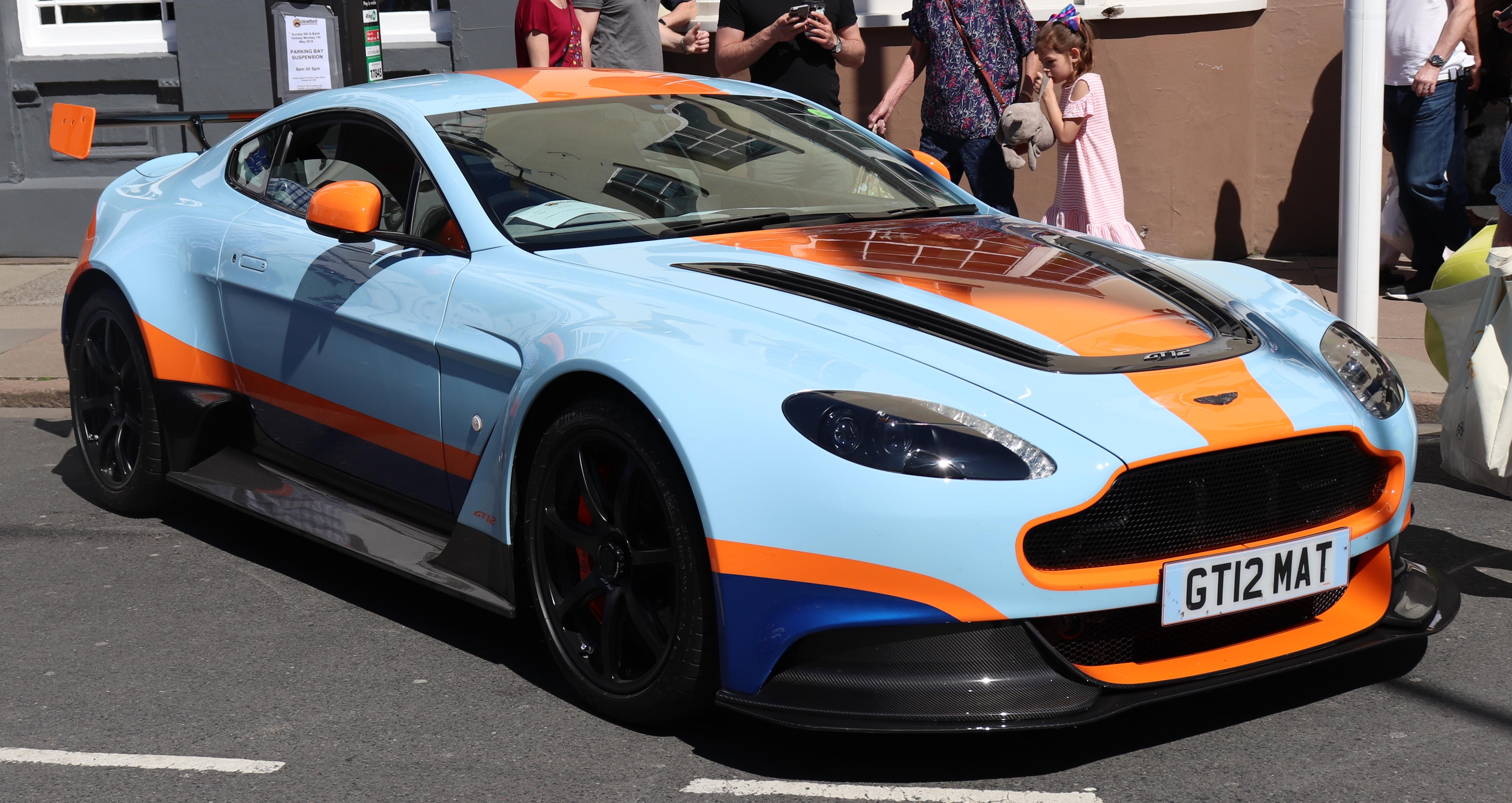File Aston Martin Vantage GT Automatic Jpg Wikimedia - Aston martin vantage gt 2018