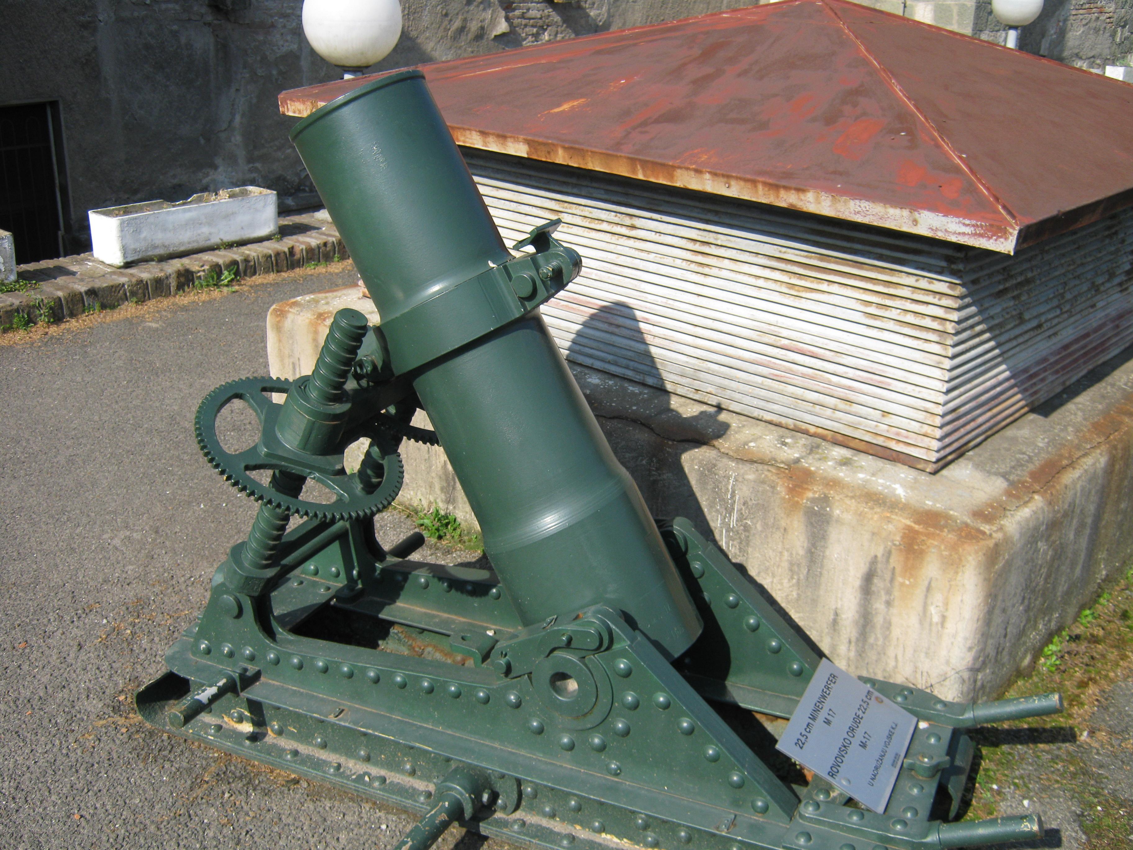 14 cm Minenwerfer M 15