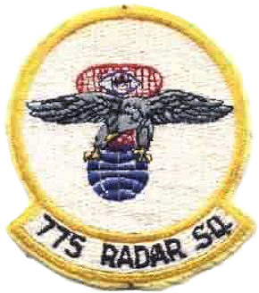 Emblem of the 775th Radar Squadron