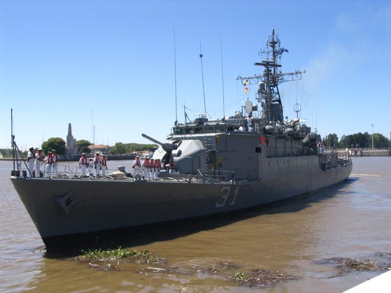 Barcos de la Armada Argentina