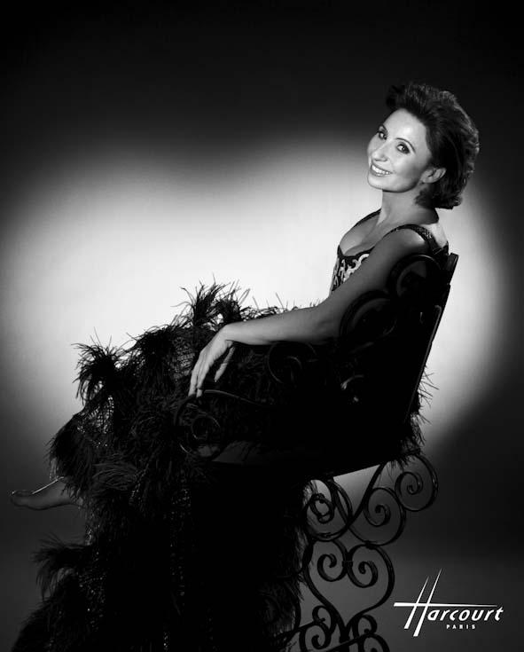 Ariane Ascaride photographiée par le studio Harcourt
