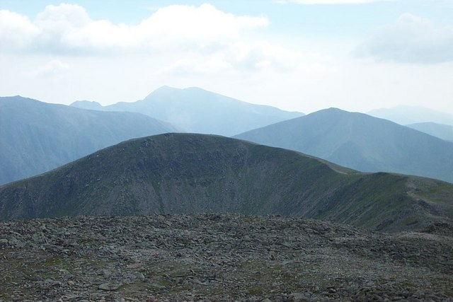 A view to Pen Yr Ole Wen from Carnedd Dafydd - geograph.org.uk - 222989