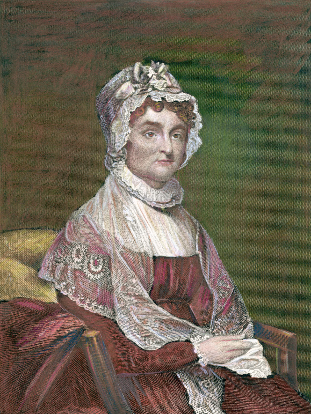 """Abigail Adams Quotes Today In Women's History Abigail Adams Attacked Sexism """"fomented"""