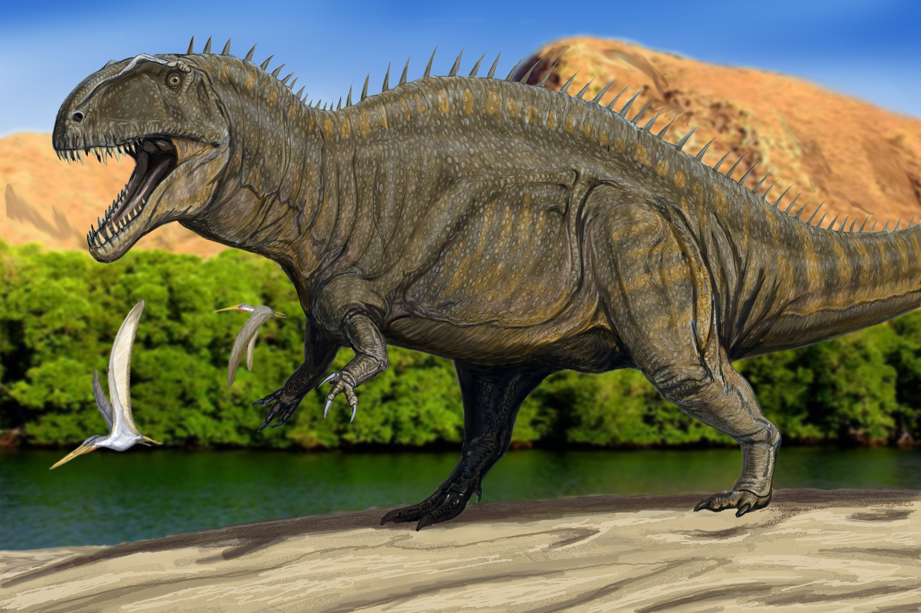 Top 10 Most Powerful Theropods - Dinosaurs Forum