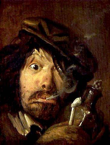 Adriaen Brouwer - Smoker
