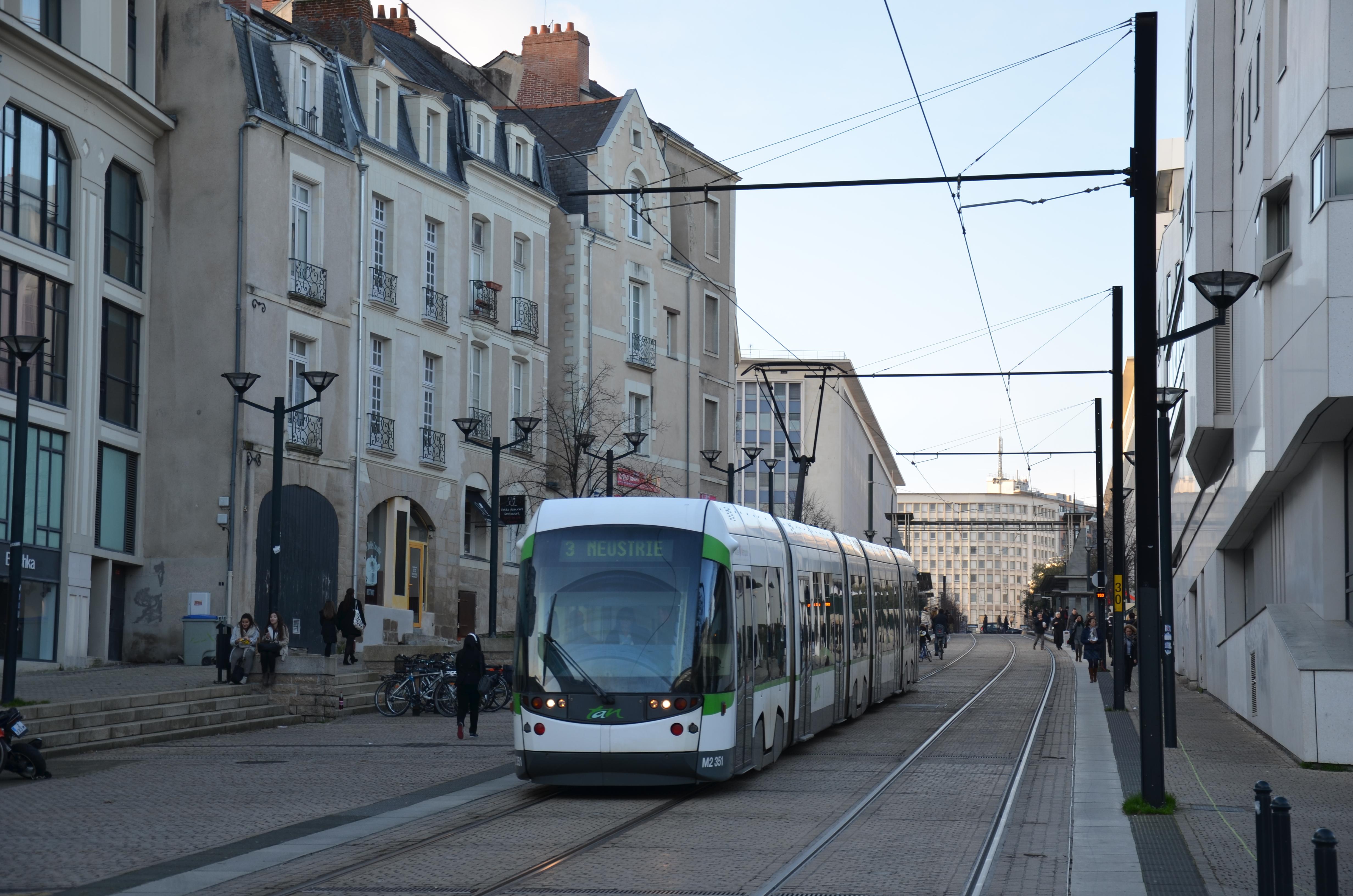 Ligne 3 Du Tramway De Nantes Wikipedia
