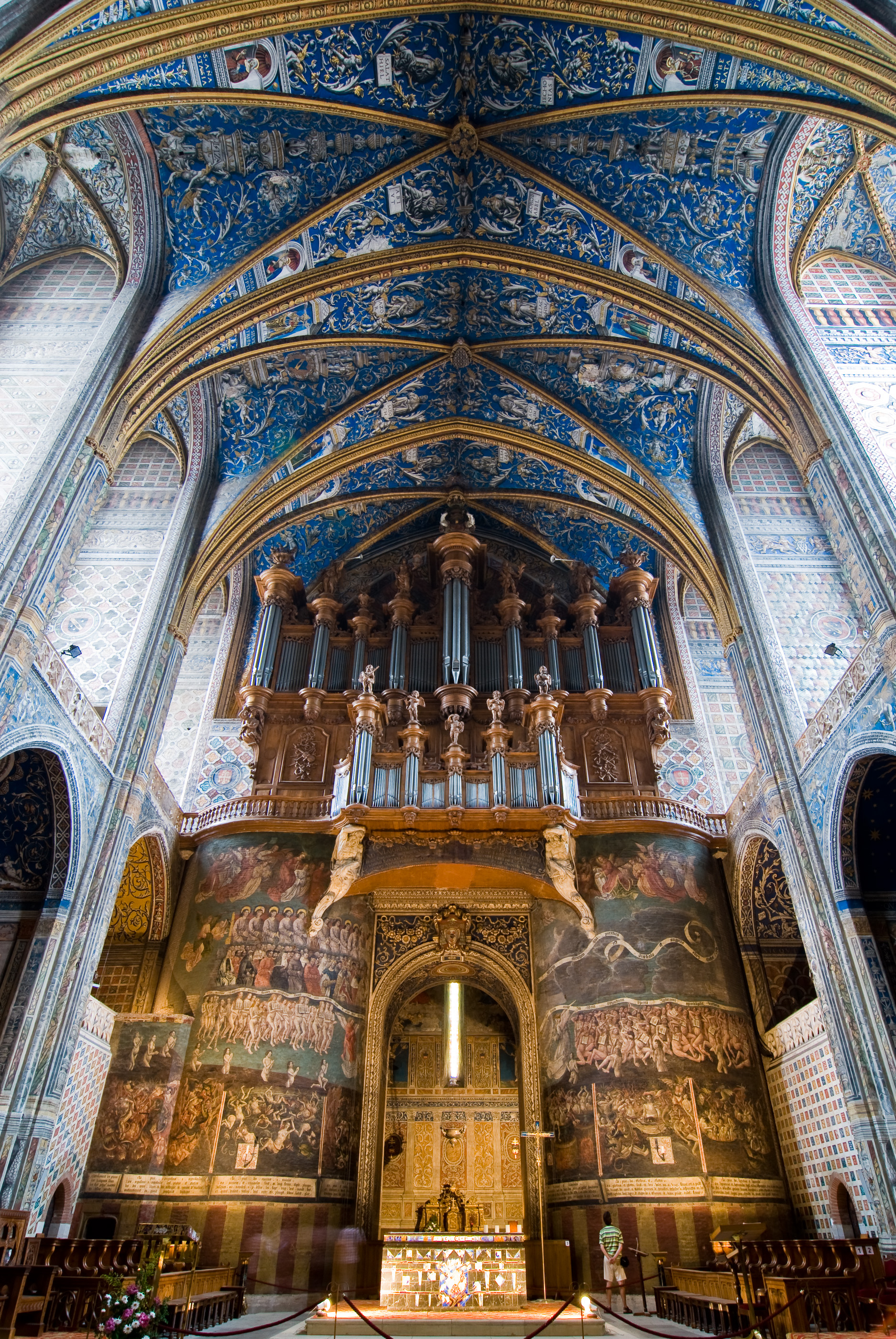 File albi cathedral nave and wikimedia commons for Interieur france